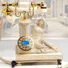 Home Phone, Vintage Telephone, Aliexpress, Vintage Beauty, Retro, Phones, Antiques, Unique Jewelry, Pineapple Upside