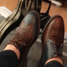 Another pair from the Cole Haan Concept Store in Soho...  Funny how a lot of people don't realize they're mismatched.