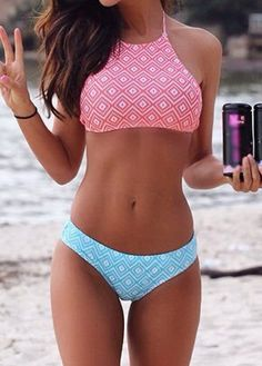 Two Piece Bohemian Swimsuit More