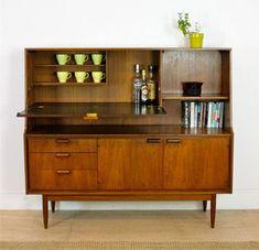 eBay watch: Austinsuite midcentury teak sideboard and drinks cabinet