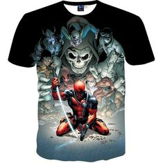 Mr.1991INC New Fashion Men's Brand T-shirt 3d Print Animation Warrior Brand Clothing Summer Tops Tees Male T shirt