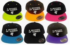 5 Seconds  of Summer  Newest design snapback by winteriscoming2012, $22.00
