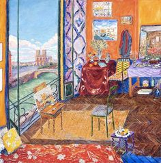Matisse's+Studio+-+Quai+Saint+Michel+Paris,+1904