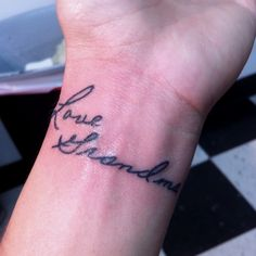 OK... i have never really thought about getting a tattoo... but i really like this idea!!! [In loving memory...took a card with my grandma's signature & got it tattooed in my wrist.]
