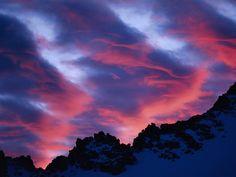 Lenticular clouds - Bing Images