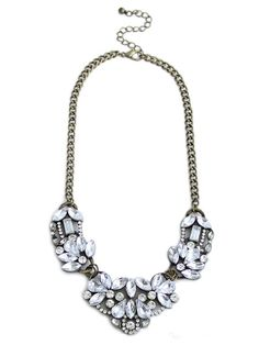 olive + piper Holly Floral Bib #jewellery