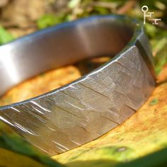 Ring Facette - Tantal, handgeschmiedet #handmade #tantalum #jewelry & #weddingrings #rings