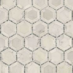 Telaio-2-034-Hexagon-Polished-Marble-Mosaic-Tile