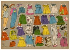 77.5183: paper doll | Paper Dolls | Dolls | National Museum of Play Online Collections | The Strong