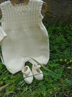 Knit Romper - Free Knit Pattern