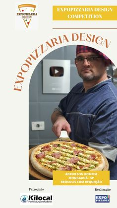Adenilson Bomfim   Mongaguá - SP   Brocolis com requeijão Design Competitions, Pizza, Bread, Ovens, Brot, Baking, Breads, Buns