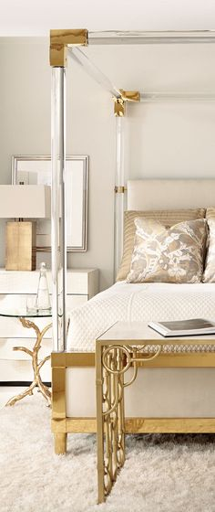 Modern Chic Bedroom Liked @ http://deliciousdecors.com/ #homestaging #beverlyhills