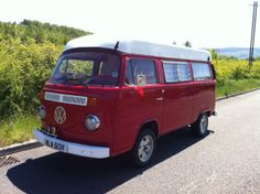 VW T2 1979 Viking poptop Campervan, Stunning red bodywork