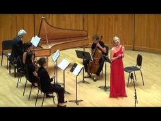 Corrine Byrne, soprano in the 2015 Handel Aria Competition, singing from Almira - YouTube