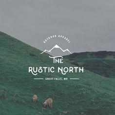 Rugged Logo Design. Outdoors Logo. Mountain Logo. Survival Logo. Mens Logo. Adventure Logo by Jay Darcy for Rogue Logo.
