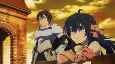 "This is from the anime ""Netoge no Yome wa Onnanoko ja Nai to Omotta?"" The couple in the gif is Hideki Nishimura and Ako Tamaki."