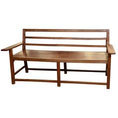 Ironwood Bench