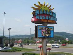 The Mellow Mushroom has two locations, one in Gatlinburg and one in Pigeon Forge!