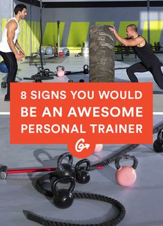 Thinking about a career as a personal trainer? If these 8 things get you fired up, it might be... #personaltrainer #career http://greatist.com/fitness/signs-you-should-become-a-personal-trainer