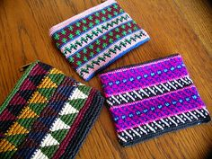 Tapestry crochet from Guatemala IMGP0600, via Flickr.