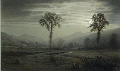 William Trost Richards Moonlight on Mount Lafayette, New Hampshire https://dashburst.com/david-goldberg/375