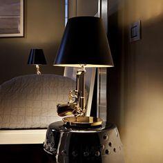 Gun Bedside Tafellamp - Flos - Philippe Starck