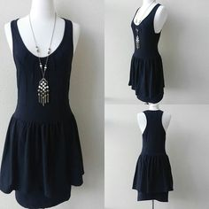 PEPLUM DRESS Black. Cotton, Polyester, Spandex. Accessories are NOT INCLUDED. 🚫 Low balls 🚫 Trades 🚫 Offline transaction French Connection Dresses
