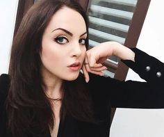 I don't care how hot it is outside. It's October & I have the right to wear a black velvet jacket. Elizabeth Gillies 2016, Jade West Victorious, Dynasty Tv Show, Jason Isaacs, Black Velvet Jacket, Kellan Lutz, Victoria Justice, Hello Beautiful, Celebrity Photos
