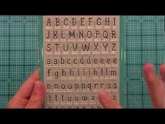 Intro to Claire's ABCs { Lawn Fawn }