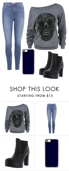 """""""yas"""" by melisa-diana ❤ liked on Polyvore featuring Paige Denim, Delicious and Casetify"""