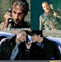 The Walking Dead meets Supernatural