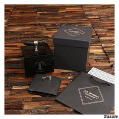 Shop Leather Wallet and Ox Horn Keepsake with Cufflinks created by tealsprairie. Personalize it with photos & text or purchase as is! Wedding Gifts For Men, Personalized Wedding Gifts, Customized Gifts, Custom Gifts, Paper Gift Bags, Paper Gifts, Groomsman Gifts, Keepsake Boxes, Leather Wallet