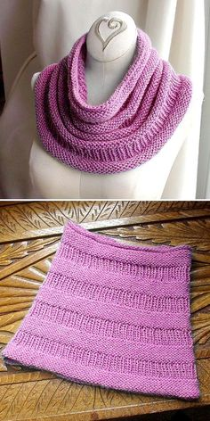 Copycat Cowl - Free Pattern - Free Knitting Patterns # crochet scarves and cowls Easy Knitting, Knitting For Beginners, Loom Knitting, Knitting Stitches, Knitting Patterns Free, Knit Patterns, Free Pattern, Neck Pattern, Knitting Needles