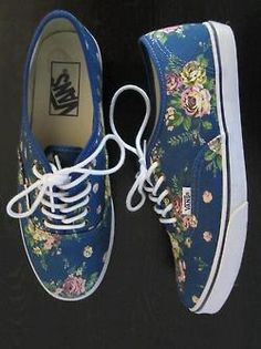 I would totally wear these vans with a dress or even white converse