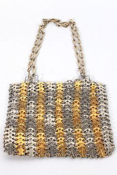 Paco Rabanne 1969 Chain Mail Bag, Vintage