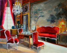 CHATEAU DU CHAMPS by Cecilia Rosslee