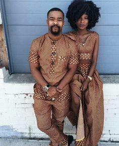 African fashion is available in a wide range of style and design. Whether it is men African fashion or women African fashion, you will notice. Couples African Outfits, Couple Outfits, African Attire, African Wear, African Dress, African Clothes, African Fashion Designers, African Inspired Fashion, African Print Fashion