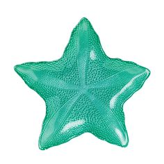 Sea Glass Teal Large Starfish Dish