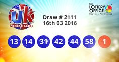 UK Lotto winning numbers results are here. Next Jackpot: £23.4 million #lotto #lottery #loteria #LotteryResults #LotteryOffice