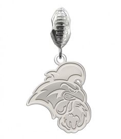 925 Sterling Silver Rhodium-plated Polished /& Laser-cut Kentucky Derby Black Leather Key Chain