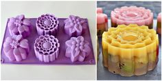 Kiwifruit Jelly Mooncakes 奇异果菜燕月饼   Anncoo Journal - Come for Quick and Easy Recipes