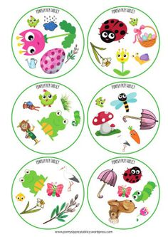 Spring is here! English Games, English Activities, Autumn Activities For Kids, Games For Kids, Infant Activities, Preschool Activities, Teaching Kids, Kids Learning, Double Game