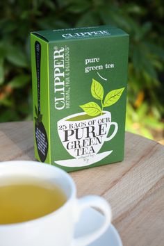 Pure Green in the Garden Clipper Tea, Pure Green Tea, Big Project, Teas, Lovely Things, Tea Time, Recycling, Packaging, Pure Products