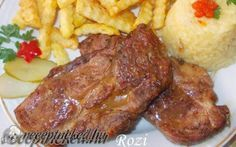 Pork, Beef, Recipes, Hungarian Recipes, Kale Stir Fry, Meat, Ripped Recipes, Pork Chops
