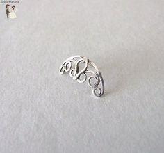 Celtic Spiral Helix Earring - Wedding earings (*Amazon Partner-Link)