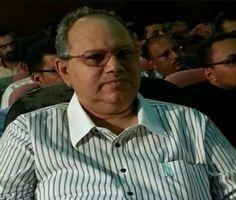 #موسوعة_اليمن_الإخبارية l الوزير الحالمي يعزي في وفاة فقيد الوطن علي باهارون
