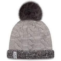 f7aa687d3 Women's New Era Gray/Graphite New England Patriots Cozy Team Cuffed Knit Hat  Football Squads