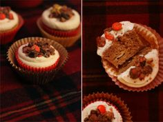 THE CIDER HOUSE: Smoked Apple Cider Cupcakes ft. Brandy Maple Frosting + Trail Mix Streusel