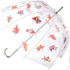 gold fish umbrella