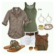 """African Safari."" by dakaf on Polyvore"